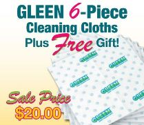GLEEN Spring 6 Piece Pack #1 with Choose a FREE Gift