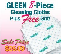 GLEEN Spring 8 Piece Pack #2 with choose a FREE Gift