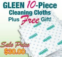 GLEEN Spring 10 Piece Pack #3 with choose a FREE Gift